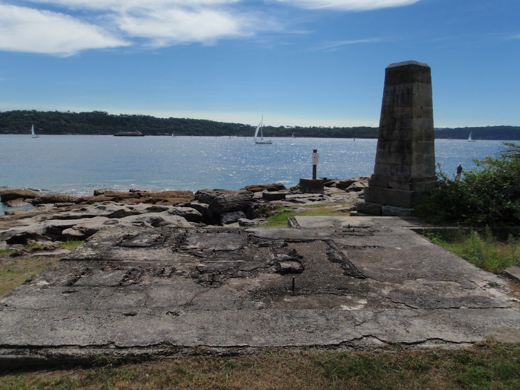 Foundations for winch building at Laings Point