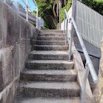 Steps just below Short St (256310)
