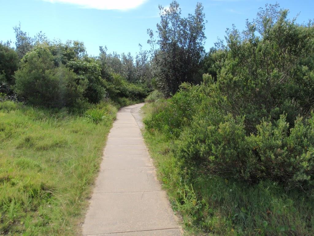 Track near the Gap Bluff