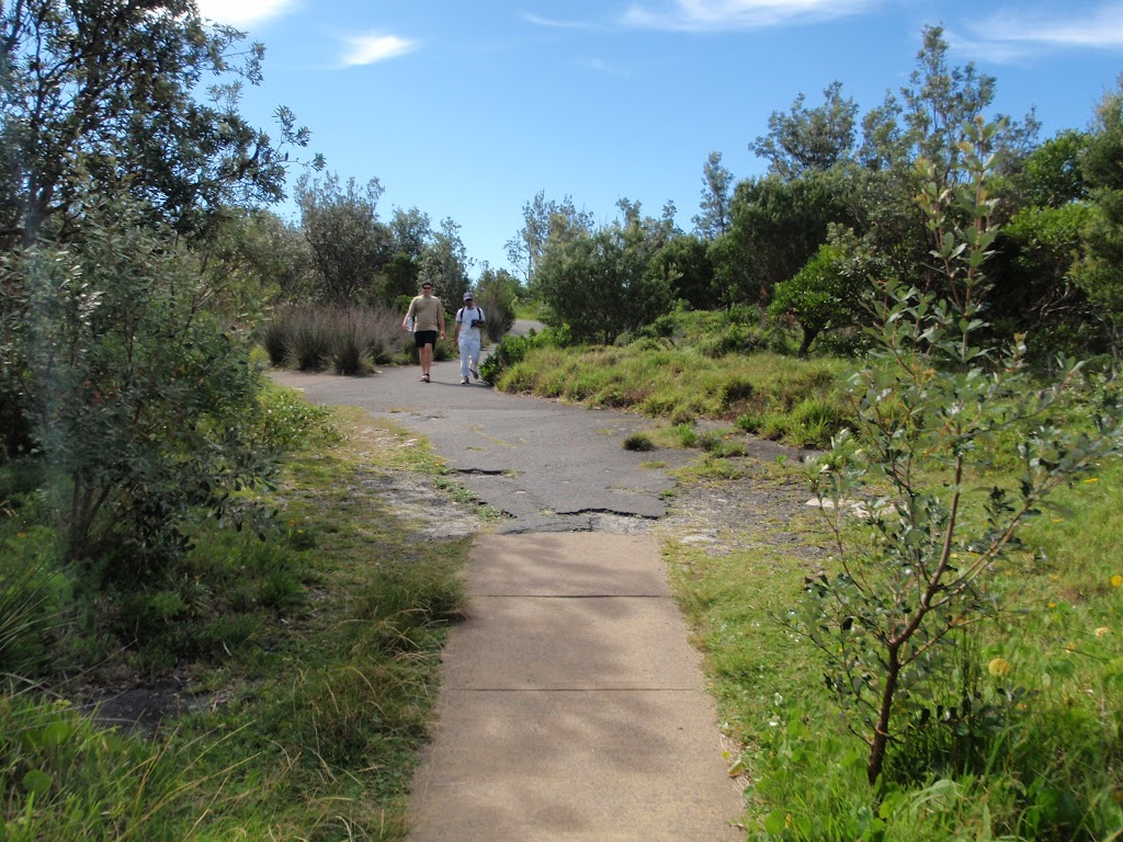 Path north of the Gap Bluff