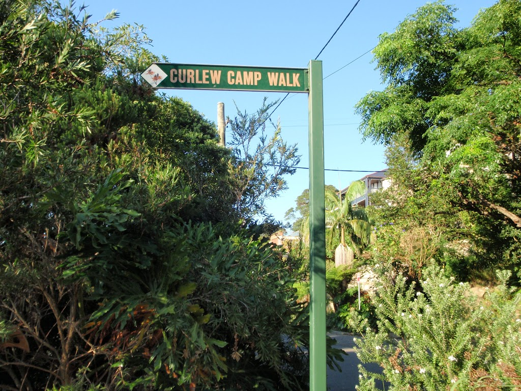 Sign to Curlew Camp
