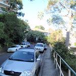 Walking along footpaths through Mosman