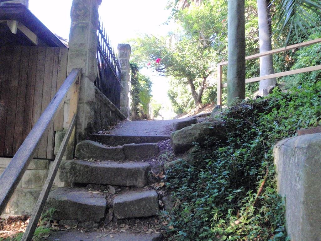 Old steps around Mosman