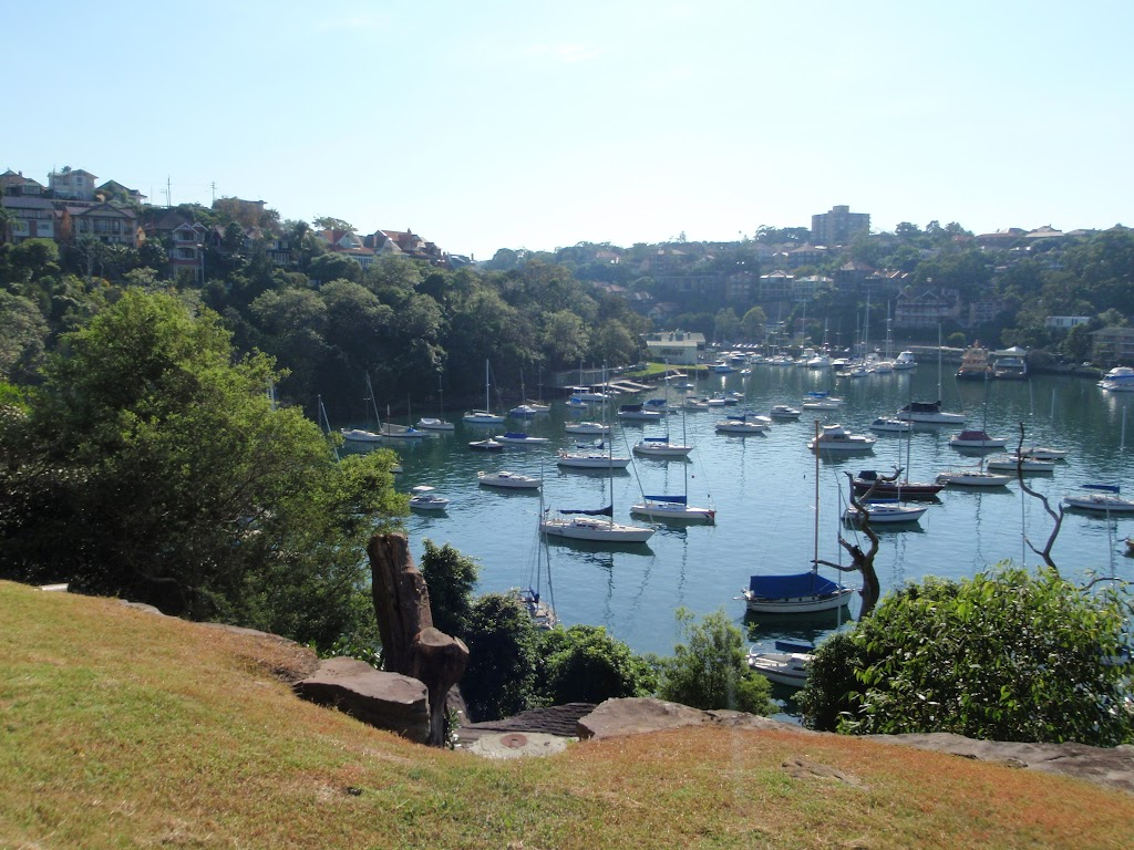 Great views into Mosman