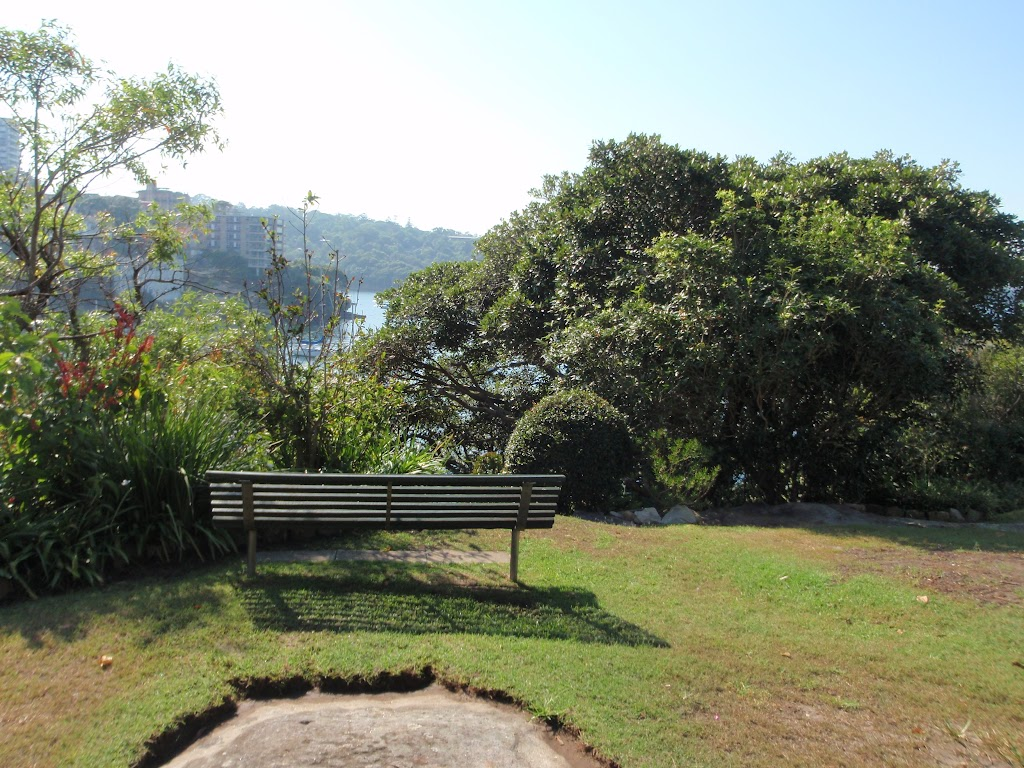 Park benches and gradens