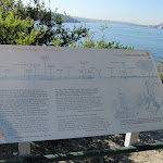 Information sign at Robertsons Point (259250)