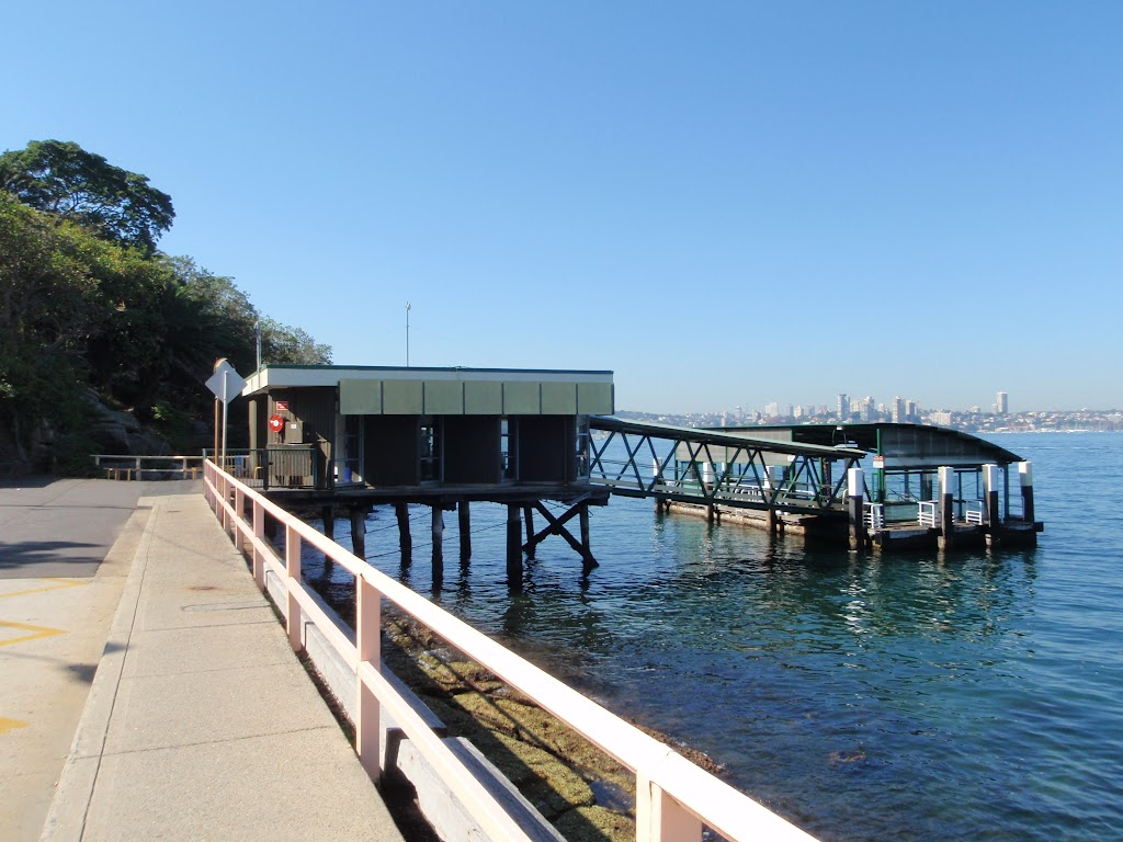 Cremorne Point Ferry wharf