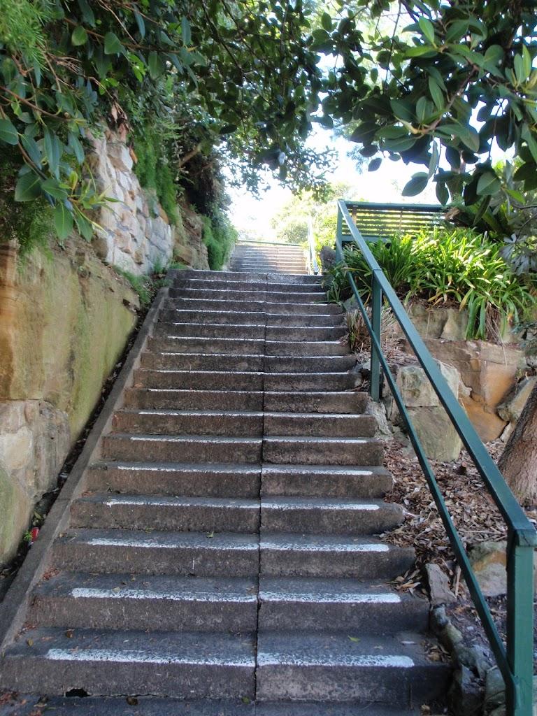 Steps near Cremorne Wharf