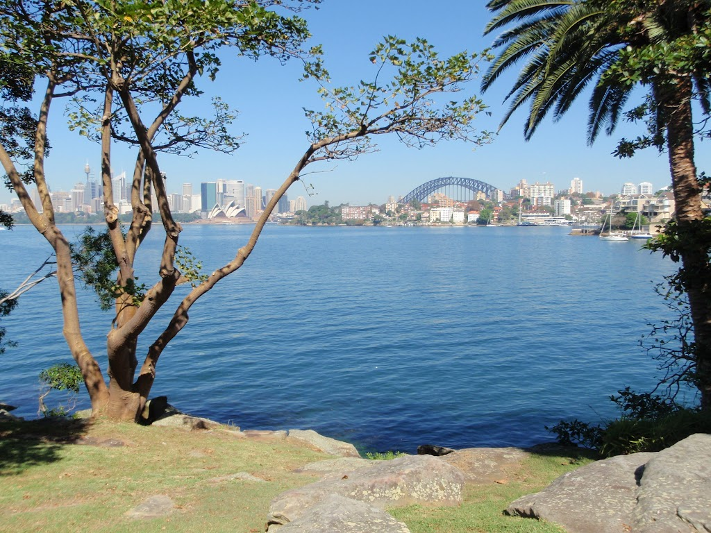 Sydney Harbour from Cremorne Reserve