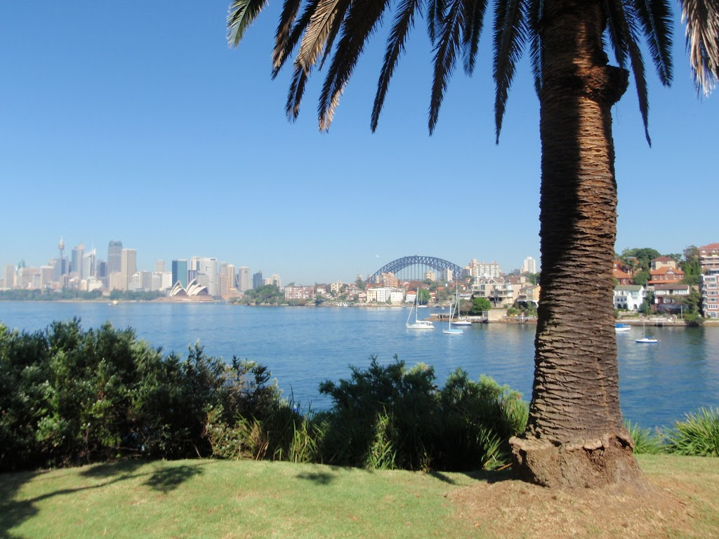 Great views from Cremorne Reserve