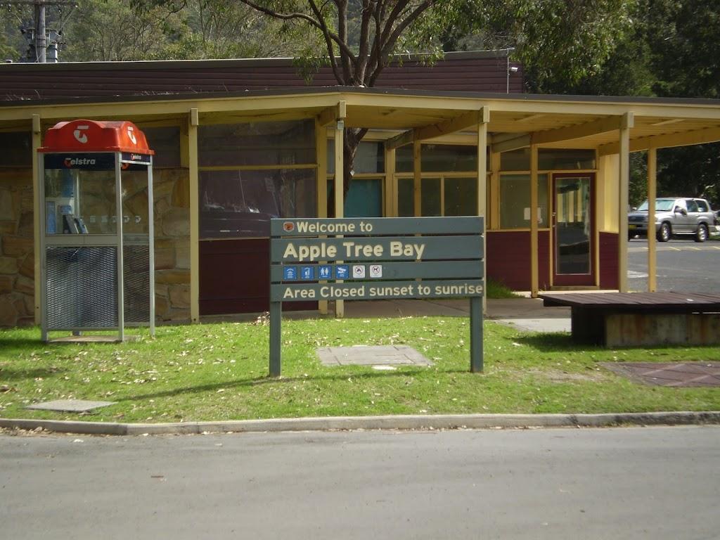 Toilet block at Apple Tree Bay