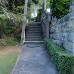 Steps up to Morella Rd (261464)