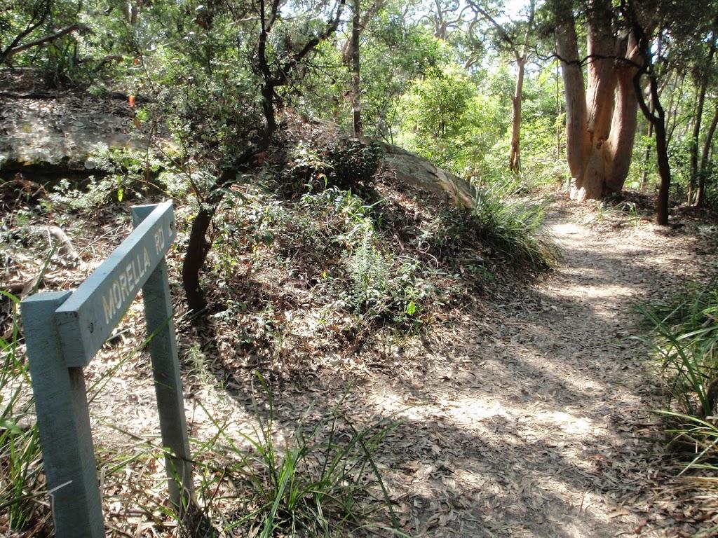 Bottom of Morella Rd track