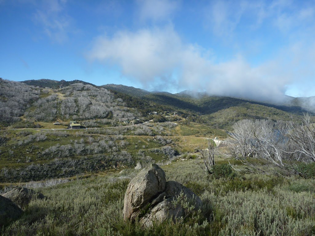 View of Guthega Township from ridge