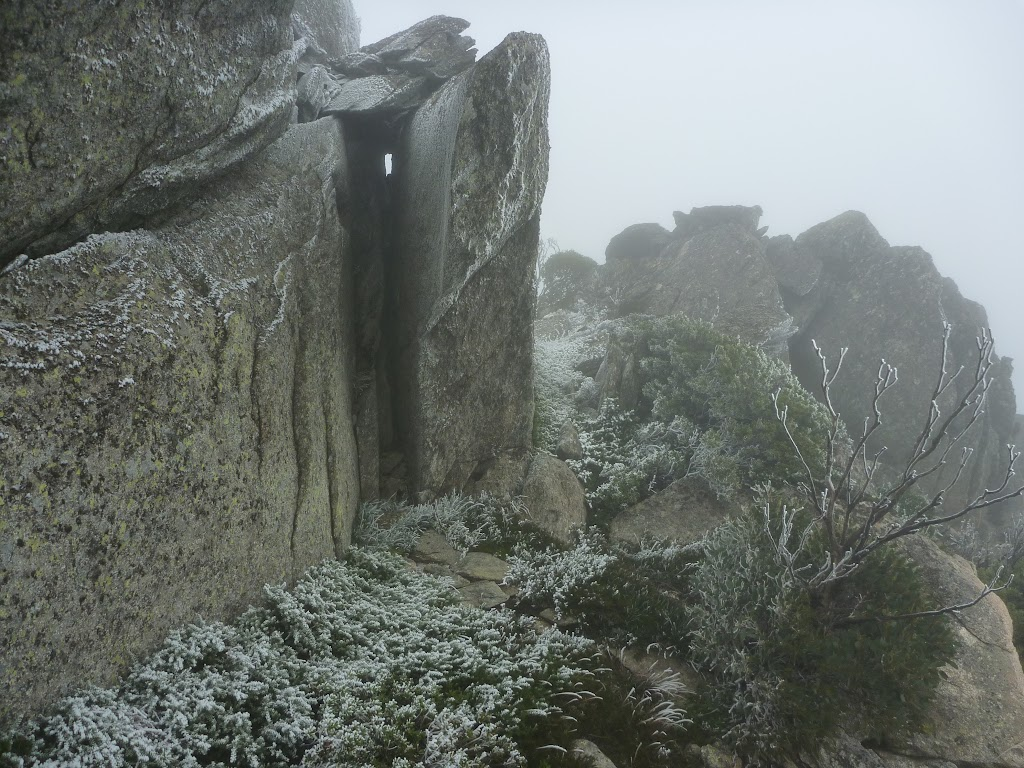 Great view of the cloud from Guthega Trig