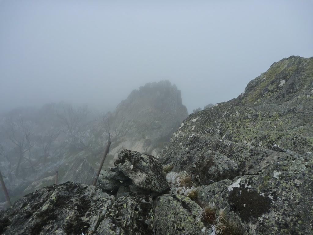 Rocky outcrop at Guthega Trig