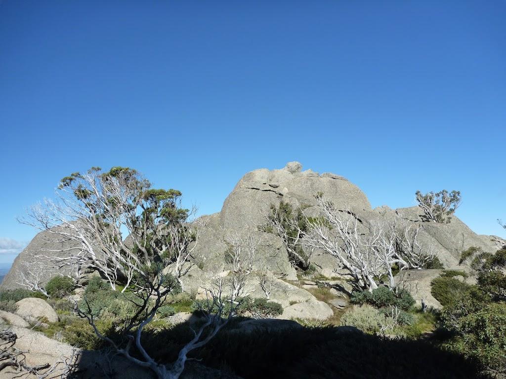 The gap at Porcupine Rocks