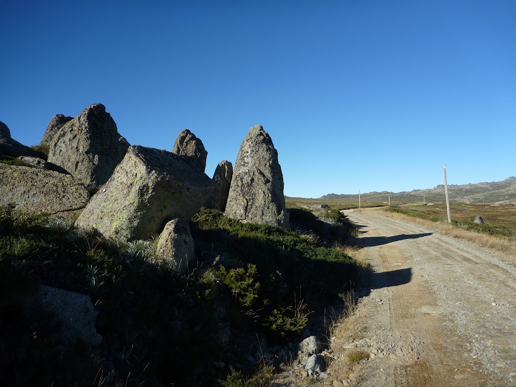 Granite tors beside the old road