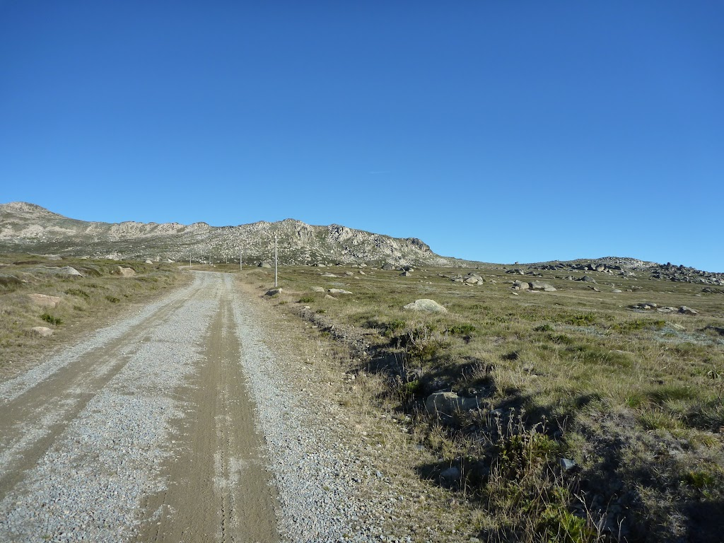 The trail west of the Snowy River