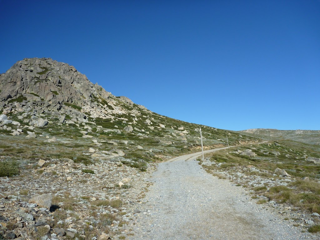 The old road near Seamans Hut