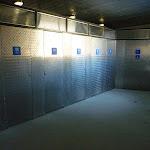 Inside the toilet block at Rawson Pass (266027)