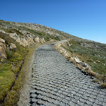 Path on the side of Mt Kosciuszko