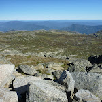 Looking over Wilkinsons Creek from near the summit of Mt Kosciuszko