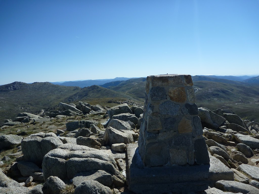The top of Australia - Mt Kosckiuszko summit