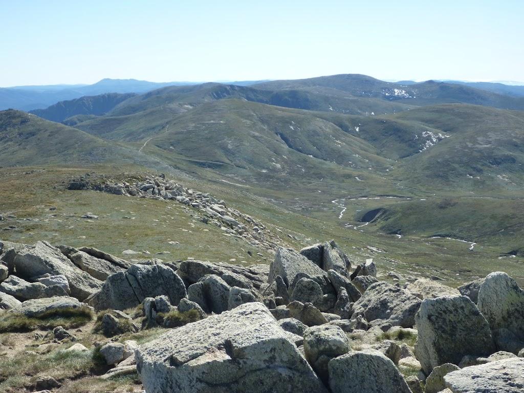 View from Mt Kosciuszko