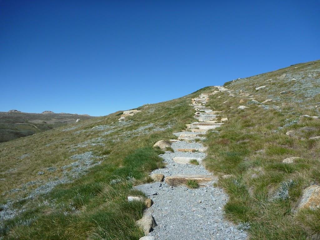 Main Range track north of Mt Kosciuszko