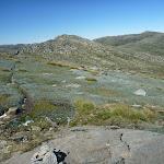 Track between Mullers Peak and Wilkinsons Creek