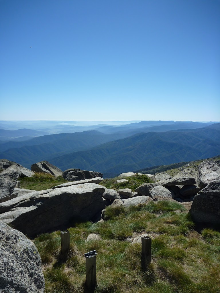 View from summit of Mt Townsend