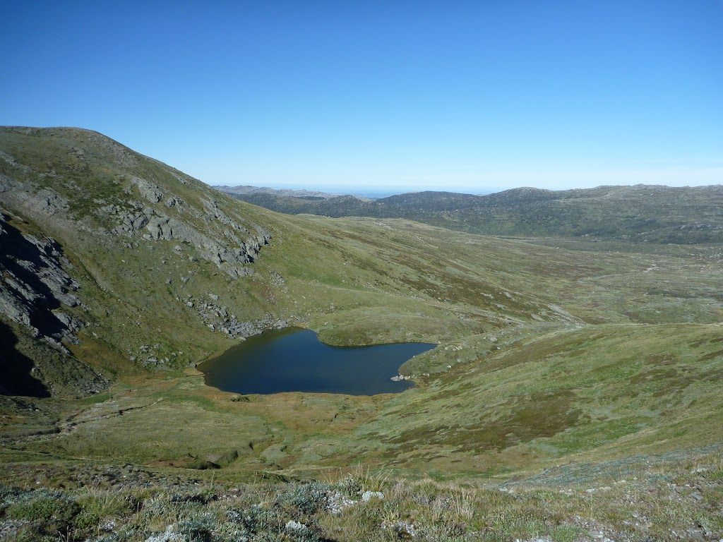 Club Lake from the Main Range Track