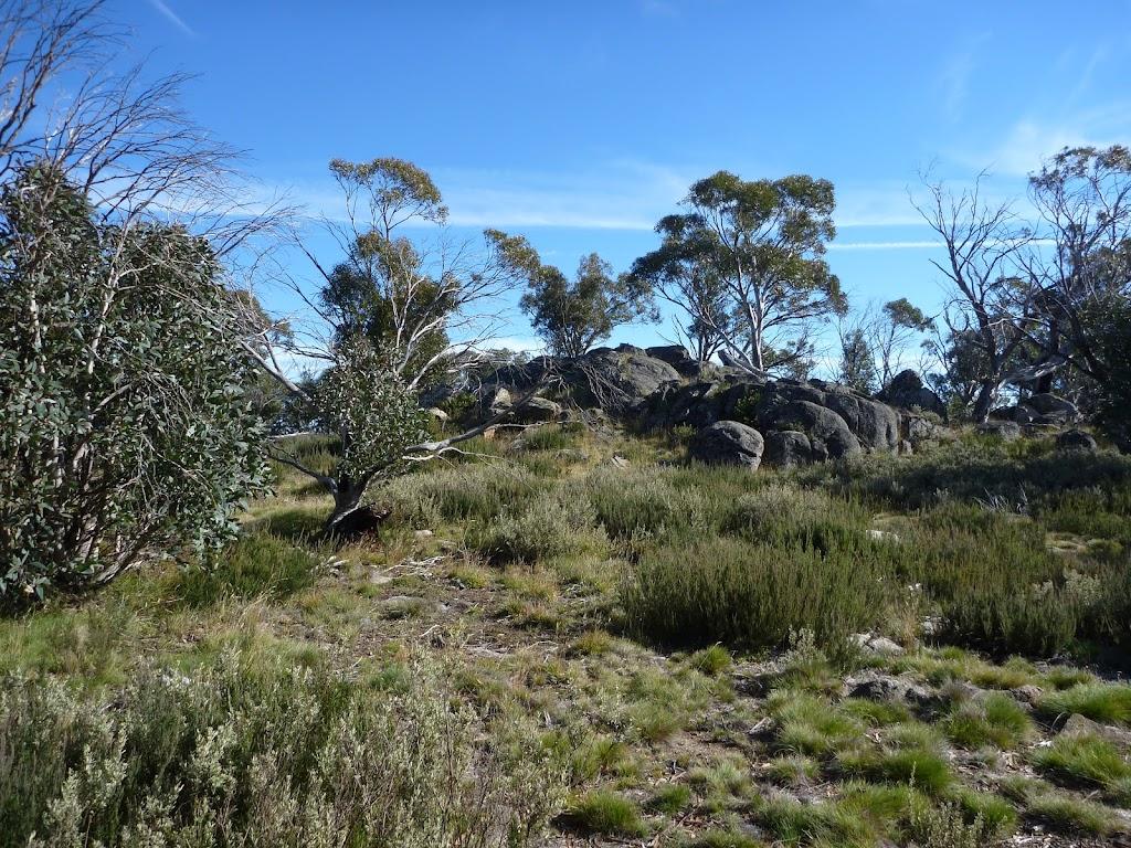 Granite outcrop on the Rennix Walk