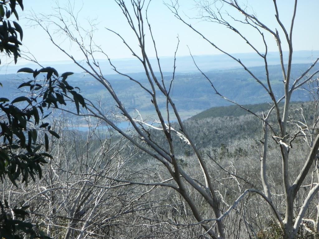 Distance view of Lake Jindabyne