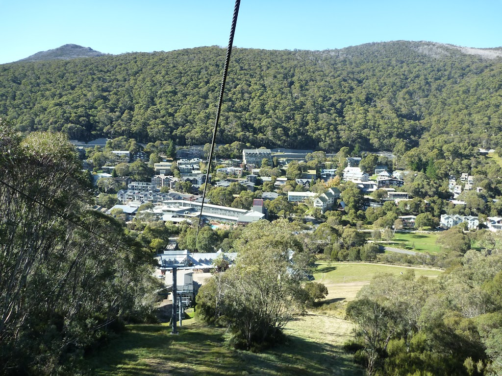 View of Thredbo From chairlift