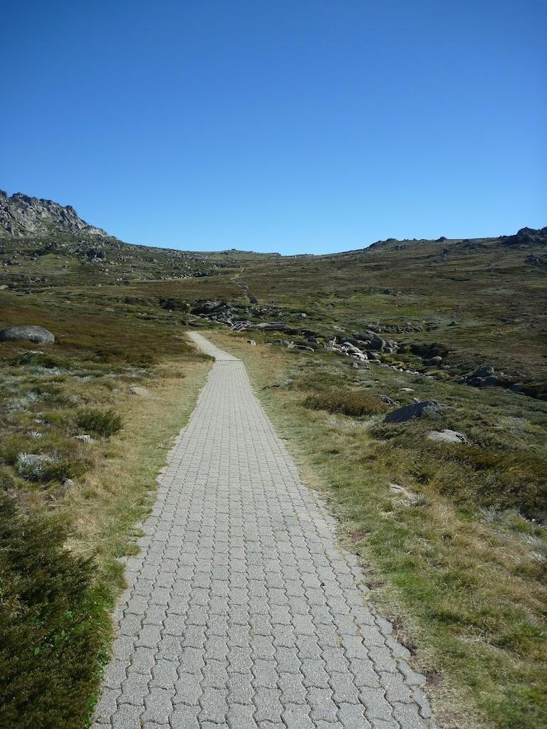 On the Path near Basin Tbar