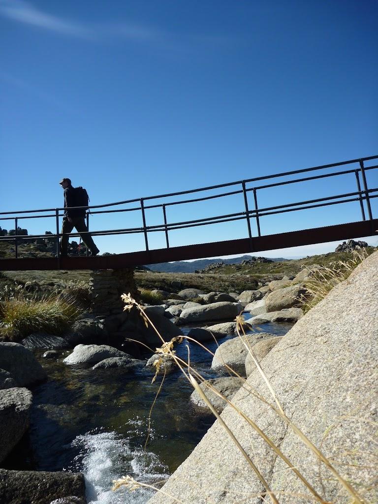 Bridge Crossing a small creek