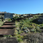 Bottom end of the Mt Kosciuszko metal pathway (271466)