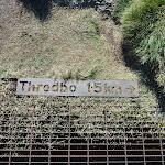 Threbo 1.5km sign (271646)