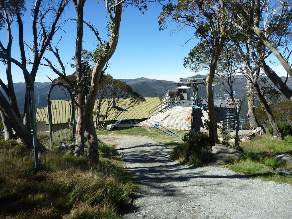 Top of Snowgums chairlift
