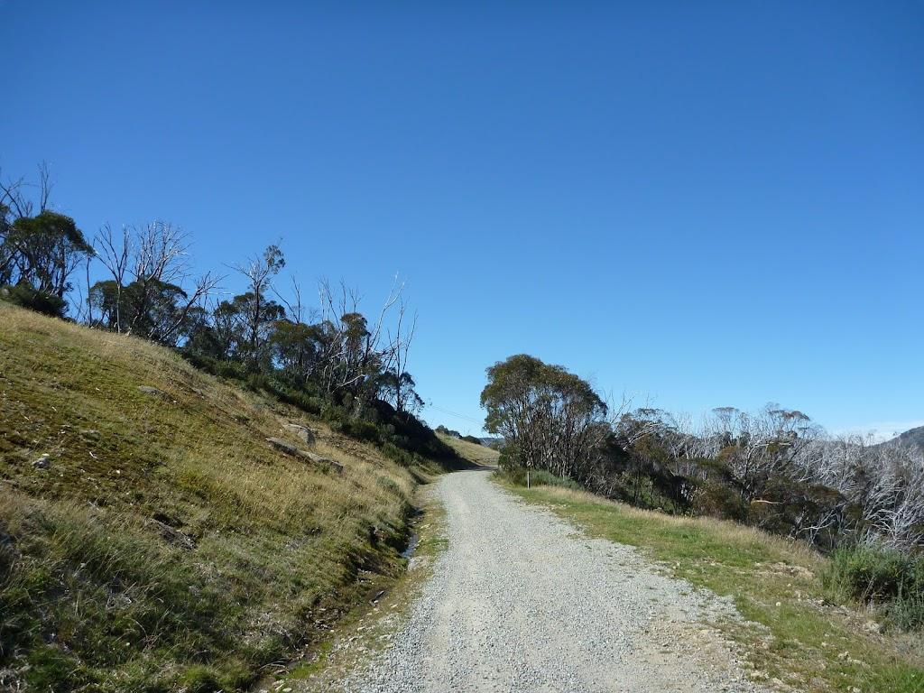 Walking along Merritts Traverse