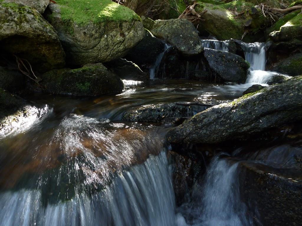 Nice creek near the bottom of Merritts Traverse