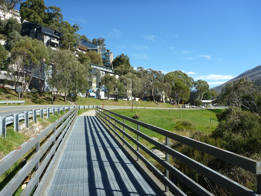 Crossing over the Thredbo River