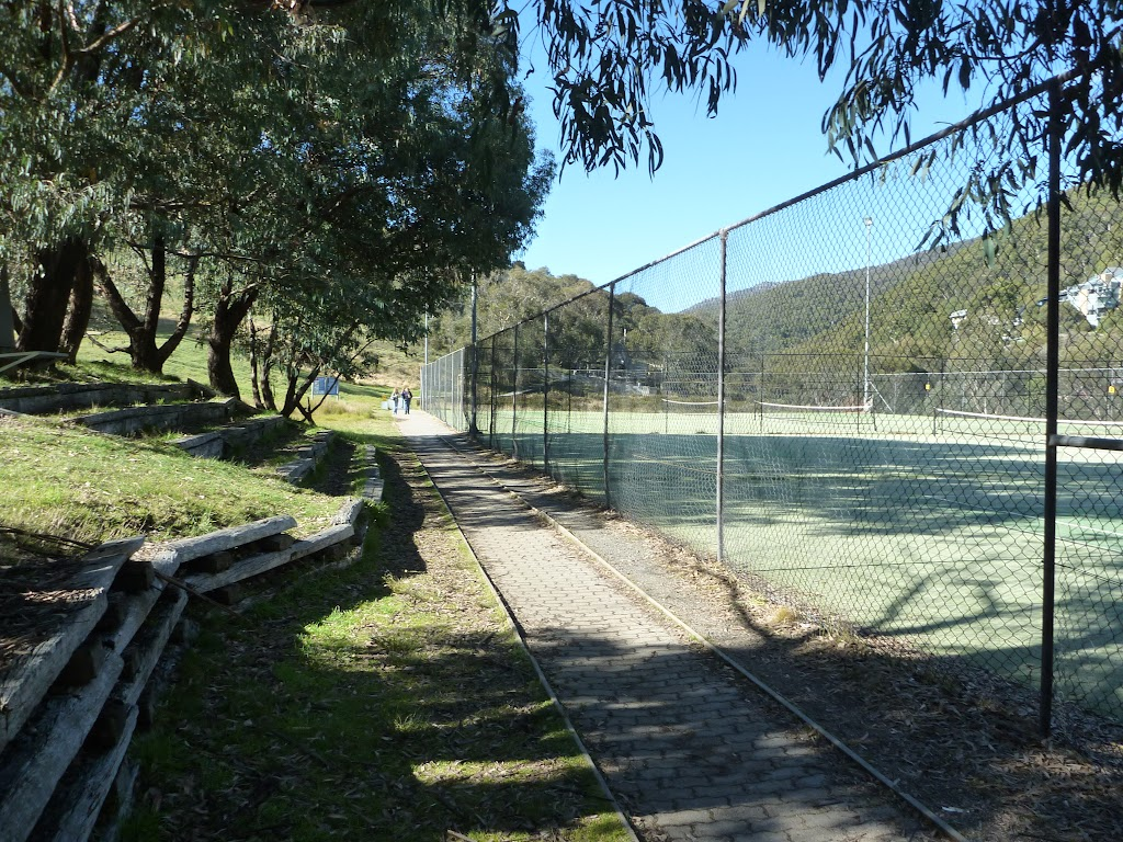 Track Passing the Tennis Courts