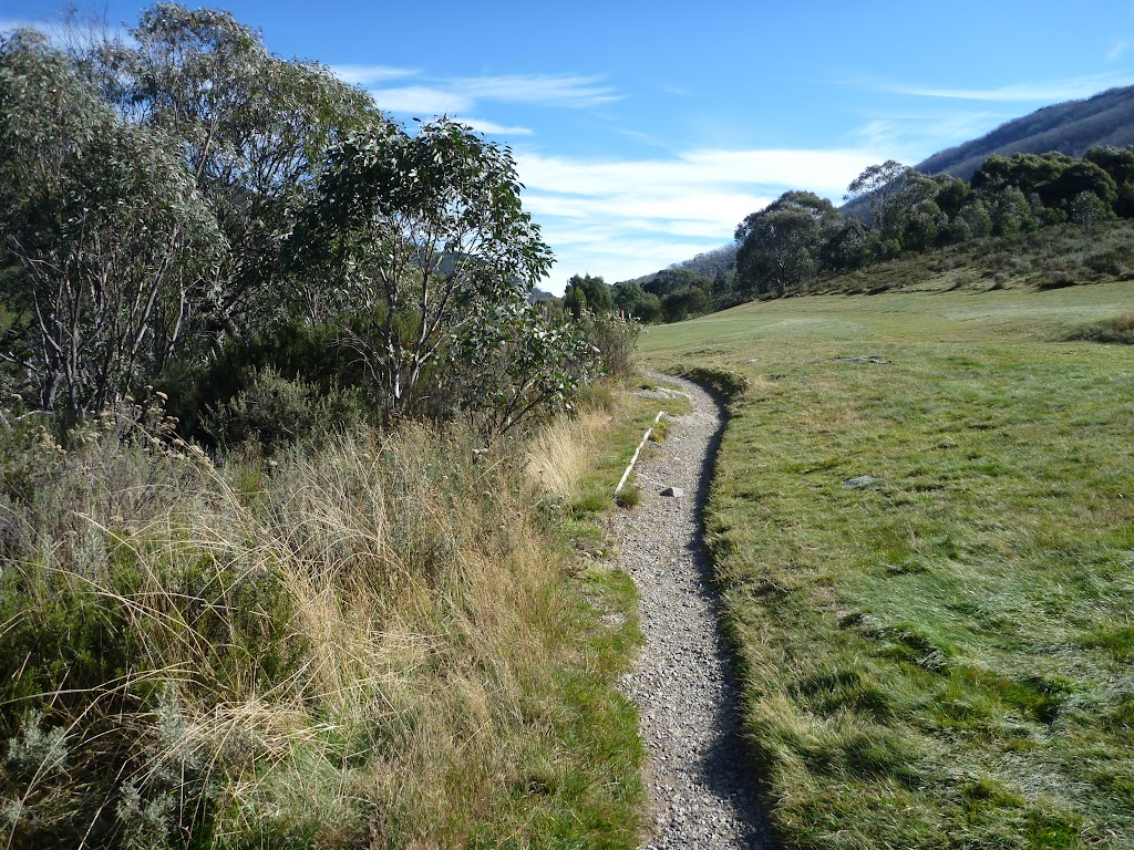 Track along the side of the golf course (273971)