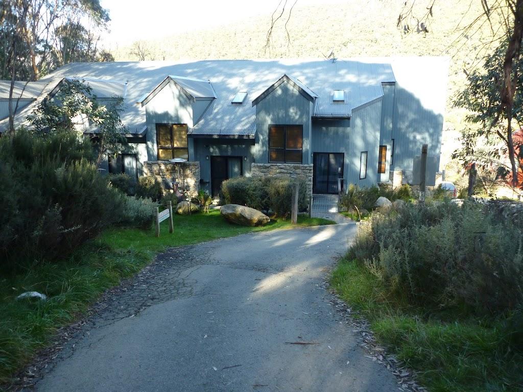 Houses at the back of Crackenback Ridge