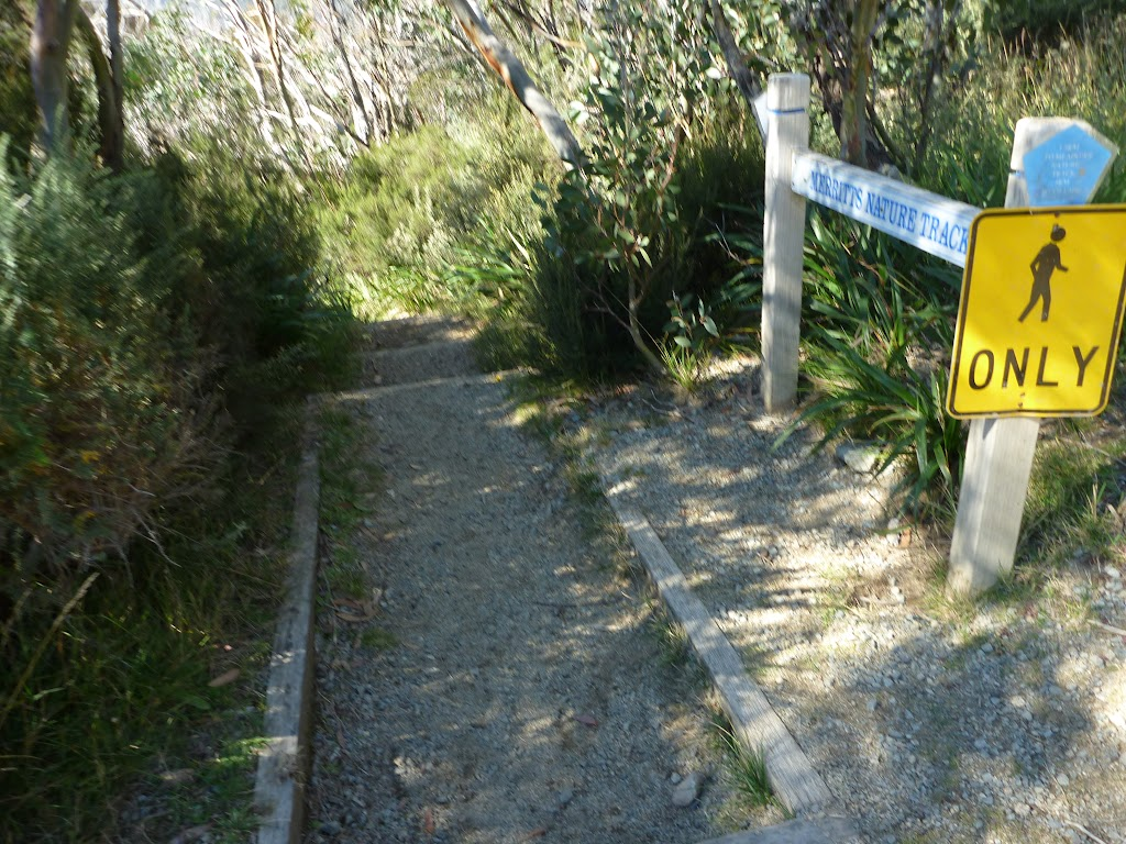 Well signposted Merrits Nature Track