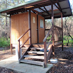 Toilet at Rivermouth camping area