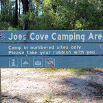 Welcome to Joes Cove Camping Area